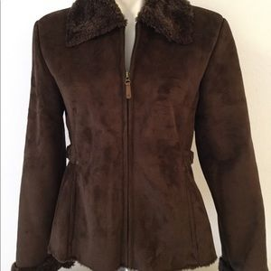 Columbia Faux Shearling  Lined Coat